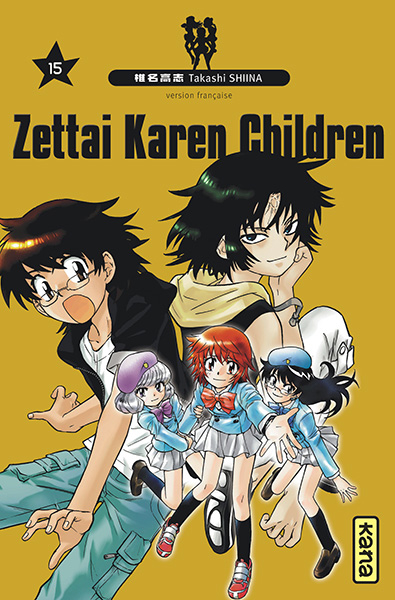 Couverture de Zettai Karen Children -15- Tome 15