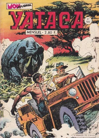 Couverture de Yataca (Fils-du-Soleil) -123- Fauves et félons