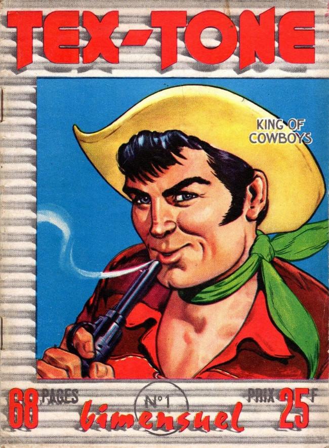 Couverture de Tex-Tone -1- Les voleurs du rodéo