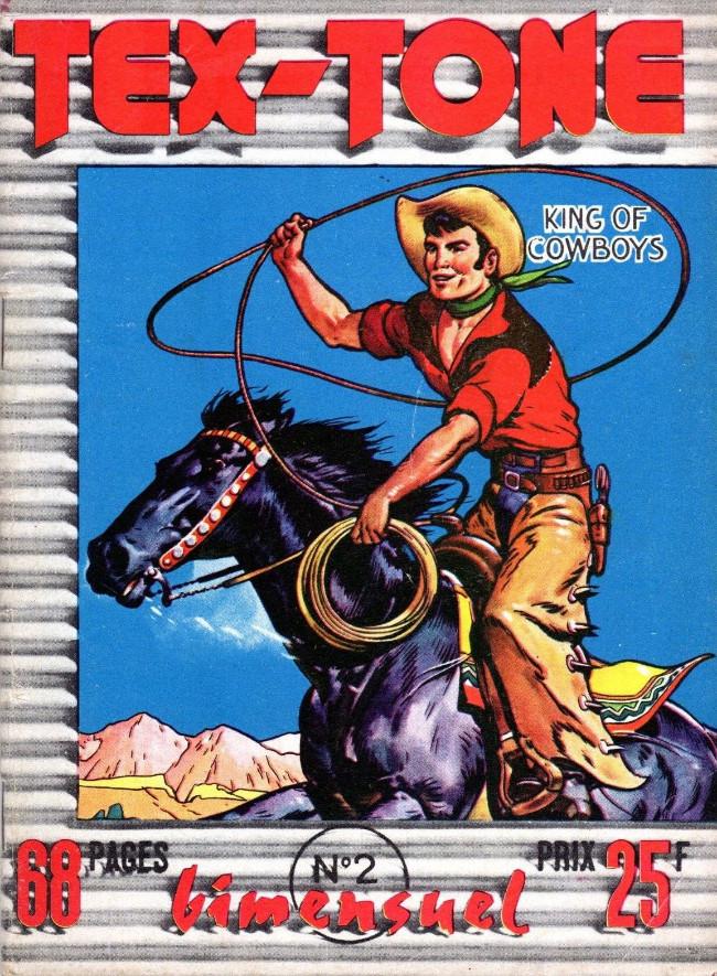 Couverture de Tex-Tone -2- Les pillards de Ranches