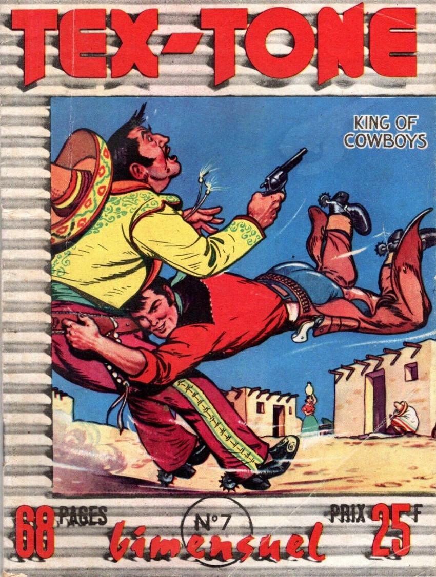 Couverture de Tex-Tone -7- La vendetta dans la vallée