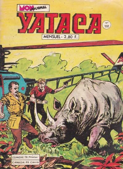 Couverture de Yataca (Fils-du-Soleil) -132- Trafiquants d'ivoire