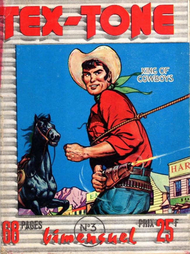 Couverture de Tex-Tone -3- Le hors-la-loi repenti