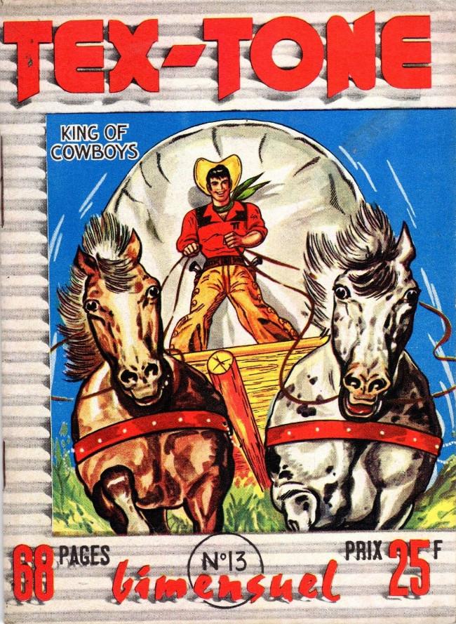 Couverture de Tex-Tone -13- Retour au Texas