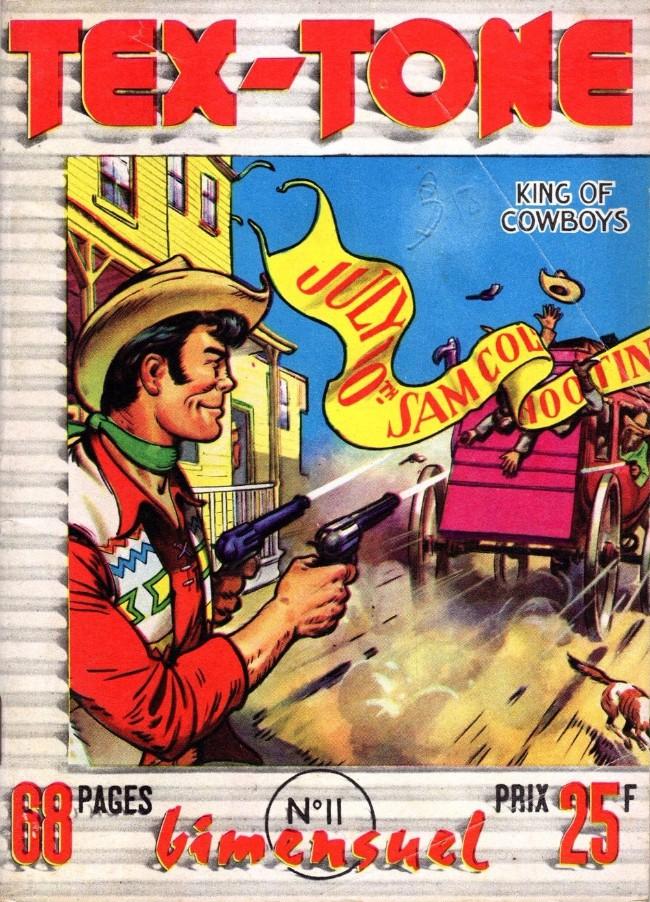 Couverture de Tex-Tone -11- Les voleurs de la frontière