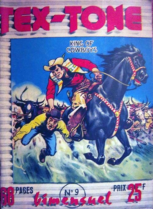 Couverture de Tex-Tone -9- Ses amis indiens