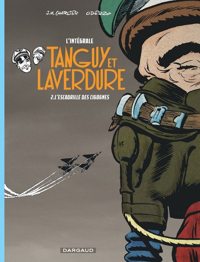Couverture de Tanguy et Laverdure (intégrale 2015) -2- L'Escadrille des cigognes
