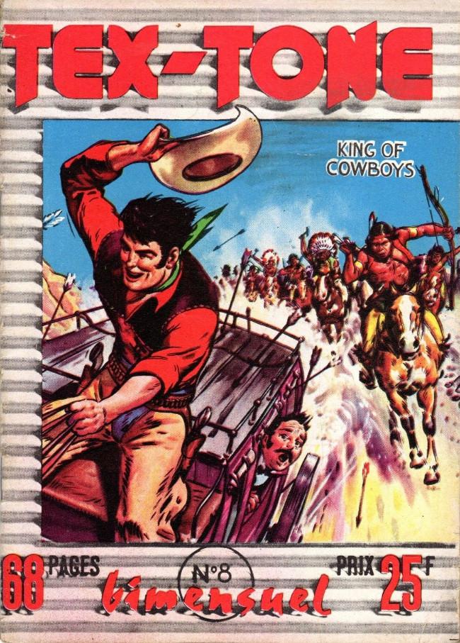 Couverture de Tex-Tone -8- Les pillards Indiens