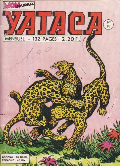 Couverture de Yataca (Fils-du-Soleil) -96- Le pays des hommes lions