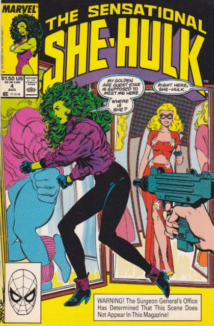 Couverture de Sensational She-Hulk (The) (1989) -4- Tall disorder
