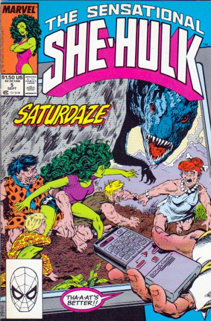 Couverture de Sensational She-Hulk (The) (1989) -5- The doctor is in!