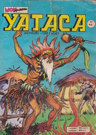 Couverture de Yataca (Fils-du-Soleil) -92- La réserve des gorilles