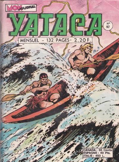 Couverture de Yataca (Fils-du-Soleil) -97- La montagne des démons