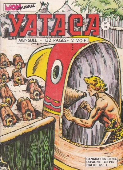 Couverture de Yataca (Fils-du-Soleil) -99- La secte des couteaux rouges