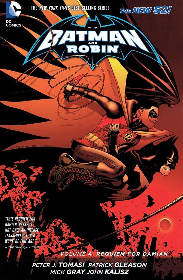 Couverture de Batman and Robin (2011) -INT04- Requiem for Damian