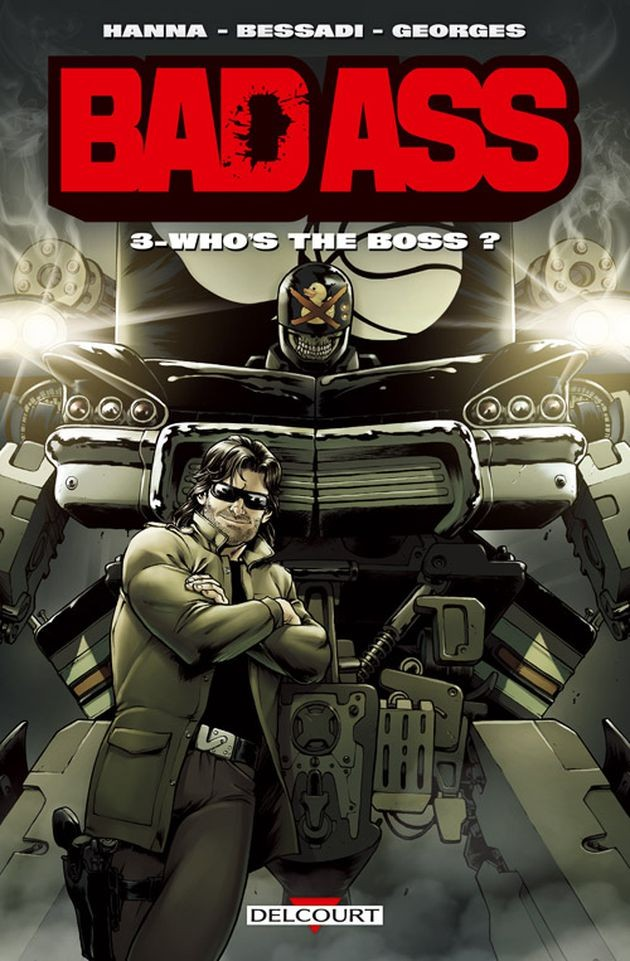 Couverture de Bad Ass -3- Who's the Boss ?