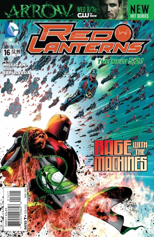 Couverture de Red Lanterns (2011) -16- Once Were Enemies