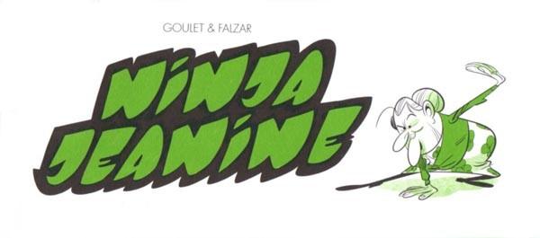 Couverture de Mini-récits et stripbooks Spirou -MR4007- Ninja Jeanine