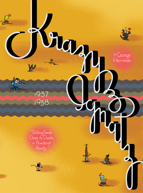 Couverture de Krazy & Ignatz (2002) -INT10- 1937-1938: Shifting Sands Dusts Its Cheeks in Powdered Beauty