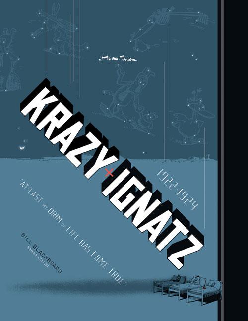Couverture de Krazy & Ignatz (2002) -INT03- 1922-1924: At Last My Drim of Love Has Come True