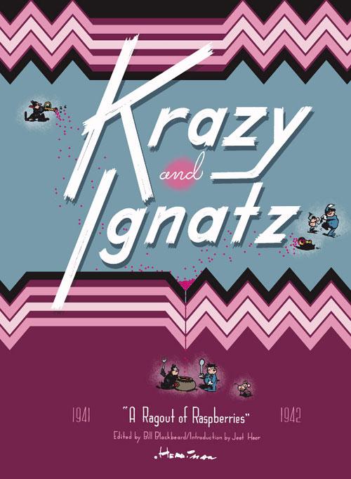 Couverture de Krazy & Ignatz (2002) -INT12- 1941-1942: A Ragout of Raspberries