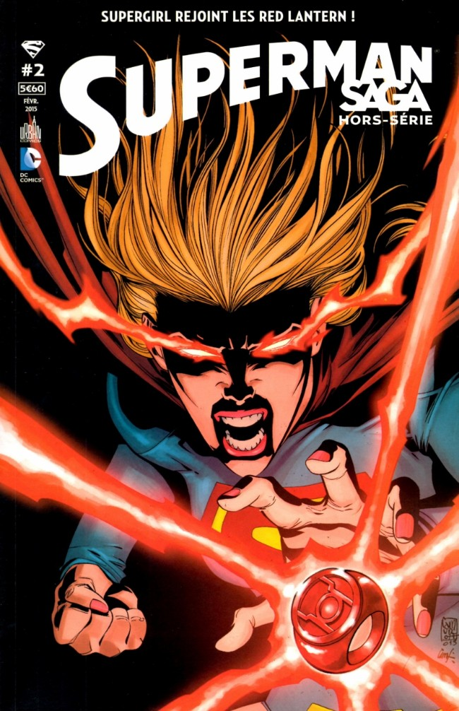 Couverture de Superman Saga -HS02- Supergirl rejoint les Red Lantern