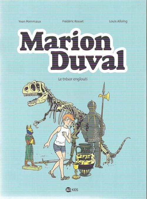 Couverture de Marion Duval -24- Le trésor englouti