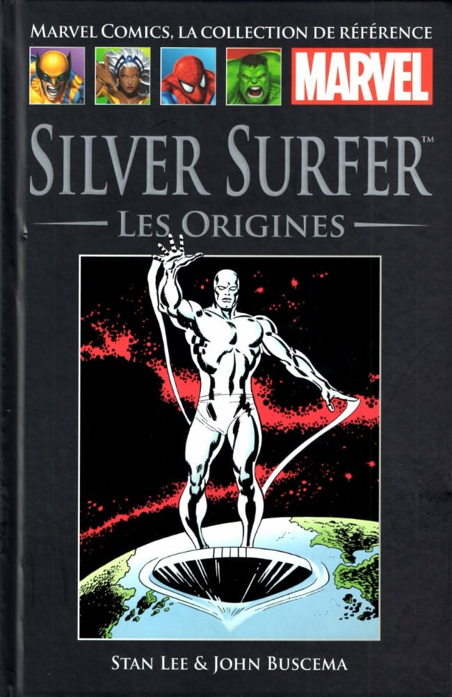 Couverture de Marvel Comics - La collection (Hachette) -251- Silver Surfer - Les origines