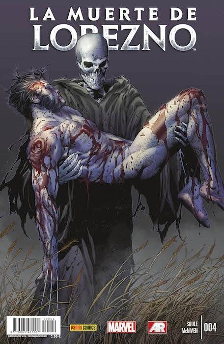 Couverture de La muerte de Lobezno -4- La Muerte de Lobezno. Parte Cuatro. Historia