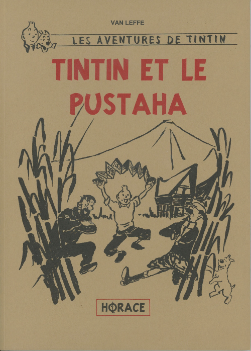 Couverture de Tintin - Pastiches, parodies & pirates - Tintin et le Pustaha