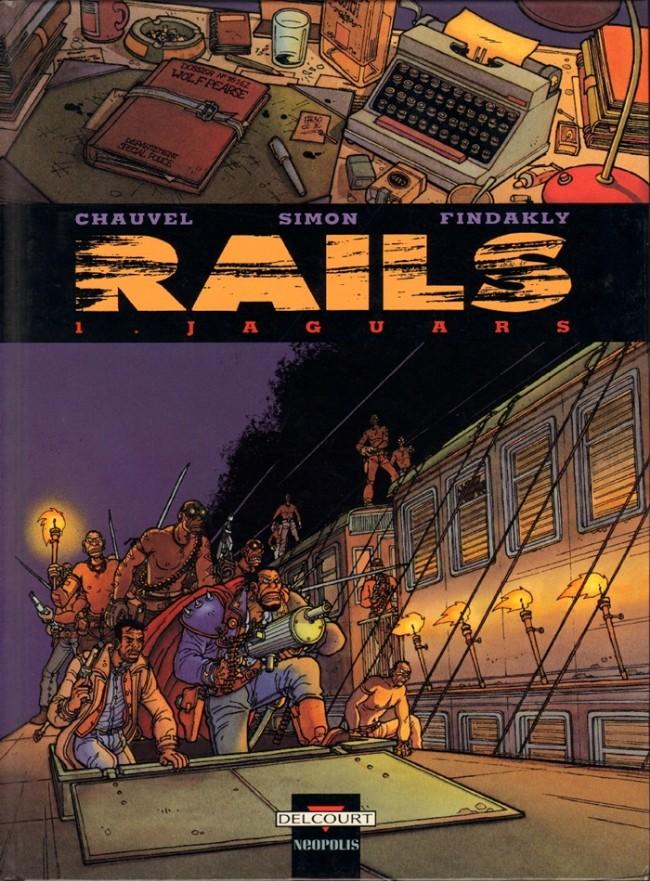 Couverture de Rails -1- Jaguars