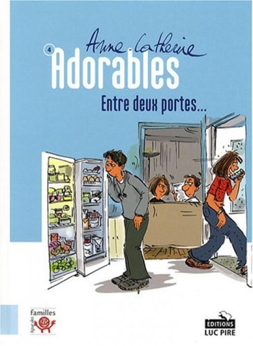 Couverture de Adorables -4- Entre deux portes...