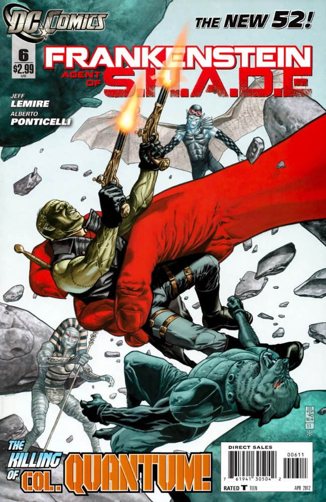 Couverture de Frankenstein, Agent of S.H.A.D.E. (2011) -6- The Siege of SHADE City, Part One