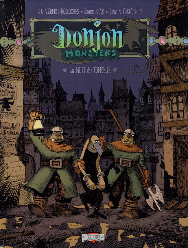 Couverture de Donjon Monsters -5- La nuit du tombeur