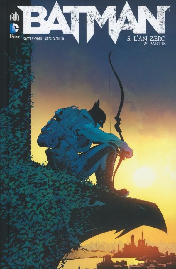 Couverture de Batman (DC Renaissance) -5- L'An zéro - 2e partie