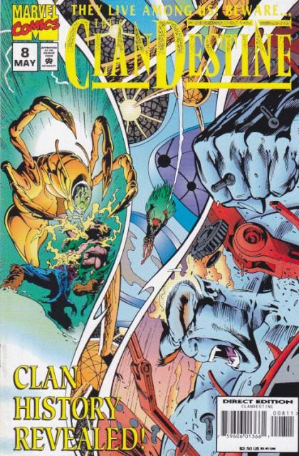 Couverture de Clandestine (1994) -8- Points of view