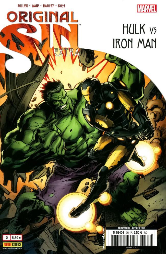 Couverture de Original Sin Extra -2- Hulk vs Iron Man