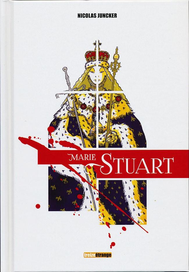Couverture de La vierge et la Putain - Marie Stuart
