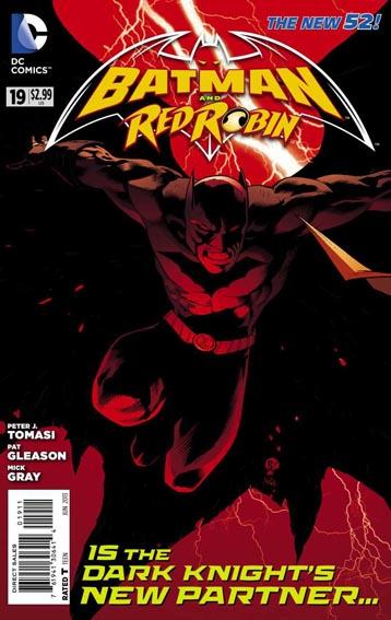 Couverture de Batman and Robin (2011) -19- Denial