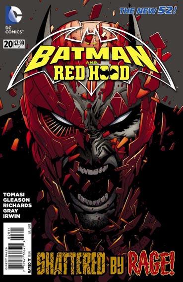 Couverture de Batman and Robin (2011) -20- Rage
