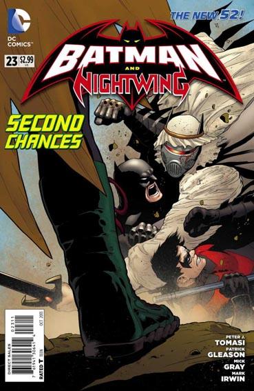 Couverture de Batman and Robin (2011) -23- Acceptance