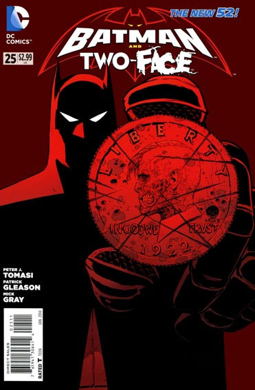 Couverture de Batman and Robin (2011) -25- The big burn : sparks