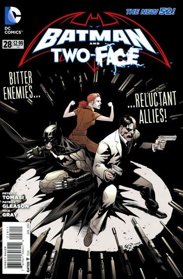 Couverture de Batman and Robin (2011) -28- The big burn : Inferno