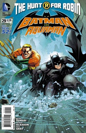 Couverture de Batman and Robin (2011) -29- Devil and the deep blue sea