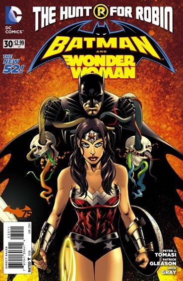 Couverture de Batman and Robin (2011) -30- Paradise and wonder