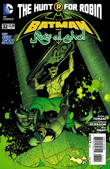 Couverture de Batman and Robin (2011) -32- Dark of the son