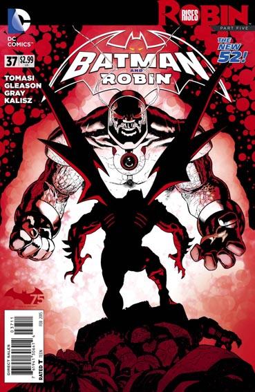 Couverture de Batman and Robin (2011) -37- Robin rises : Black hole son