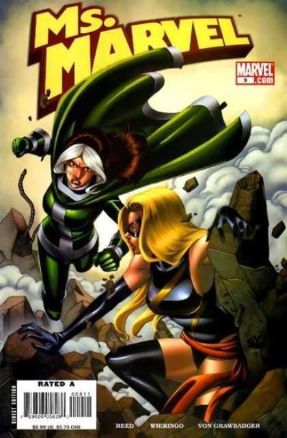Couverture de Ms. Marvel (2006) -9- Doppelganger