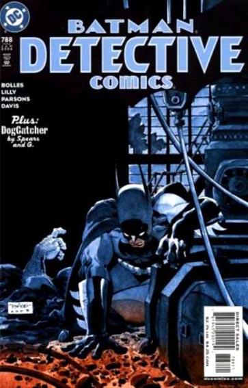 Couverture de Detective Comics (1937) -788- The Randori Stone part 1/ The Dogcatcher part 4