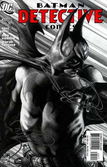 Couverture de Detective Comics (1937) -822- E. Nigma, consulting detective